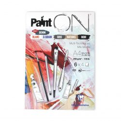 Clairefontaine Paint'On: 6-colour Mixed-Media Sketchbooks