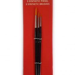 Fine Round Synthetic Paintbrushes