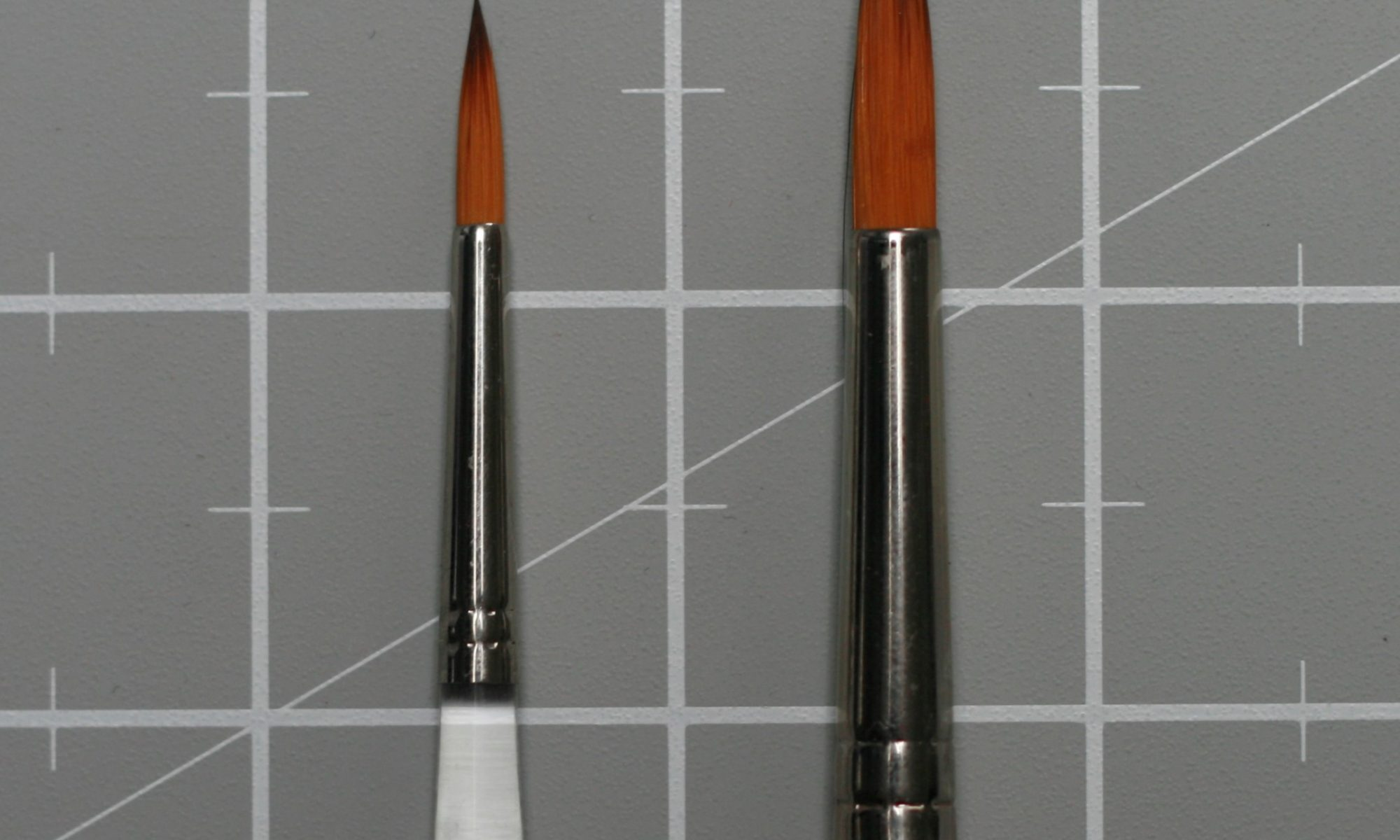 Travel brushes
