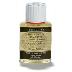 Sennelier Clarified Linseed Oil