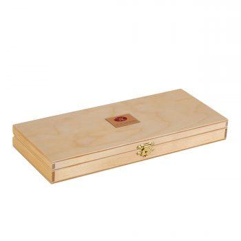 White Nights 24 pan wooden set