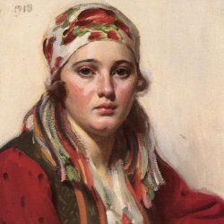 Ols Maria, 1918, Anders Zorn, , Public domain, via Wikimedia Commons