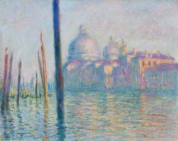 Claude Monet, Le Grand Canal, 1908, Museum of Fine Arts, Boston, , Public domain, via Wikimedia Commons