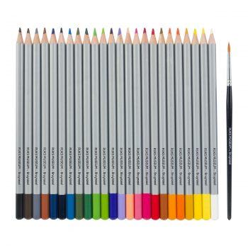 bruynzeel van gogh watercolour pencil set