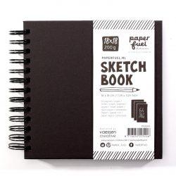 paperfuel black sketchbook