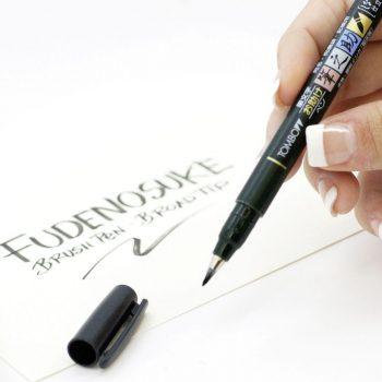 Tombow fudensouke calligraphy brush pen soft tip