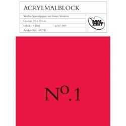acrylic paper block