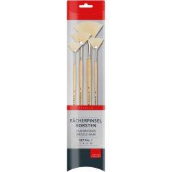fan brush set bristle